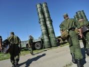 """Sốc: Nga bắt đầu """"giương"""" tên lửa S-400 trên không phận Syria"""