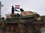 Quân đội Syria vây lấn IS dưới mưa bom không quân Nga