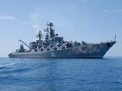 TV Syria News khám phá tuần dương hạm Moskva