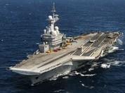 Tàu Charles de Gaulle thay đổi vị trí tấn công IS