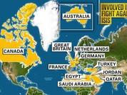 Sốc: Liên minh chống IS ném bom căn cứ quân đội Syria ở Deir Ezzor