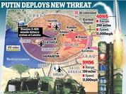 """NATO, Mỹ """"rét"""" trước lưới phòng không đa tầng Nga tại Syria"""