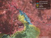 Quân đội Syria đánh chiếm 11 làng, mở thông tuyến đường huyết mạch