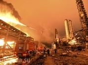 Trung Quốc: Phát nổ dữ dội tại nhà máy hóa chất