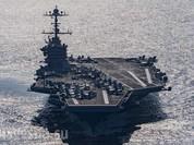 Mỹ công bố video chiến hạm Iran phóng tên lửa gần tàu sân bay Harry Truman