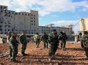 Quân đội Syria tấn công thành phố cổ Quraytayn tỉnh Homs