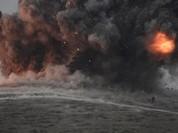 Không quân Syria hỏa thiêu 20 xe chở dầu IS
