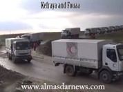 Cứu trợ nhân đạo đã đến thị trấn Madaya, Kafrya, al-Foua'a Syria