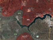 Quân đội Syria giành lại miền Nam tỉnh Hama