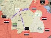 Tổ chức cực đoan Jaish al-Fateh bị bóp nghẹt từ 3 hướng