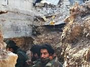Video: chiến tuyến quân đội Syria ngày đầu năm