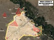 Chùm video chiến sự Syria thành phố Deir Ez-Zor