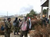 Lữ đoàn 103 tấn công các làng ngoại ô thị trấn Kinsibba, Latakia