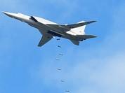 Video: Cận cảnh không quân Nga không kích khủng bố ở Syria