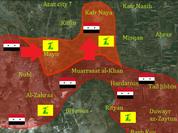 Lực lượng vũ trang Syria đánh chiếm hai làng Mayer và Kafr Naya