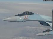 Video:Thần điêu Su-35 tung hoành trên bầu trời Syria.