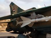 Không quân Syria thực hiện nhiều đợt không kích trên các tỉnh Syria