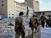 Quân đội Syria khởi động chiến dịch giành lại các khu phố ở Aleppo