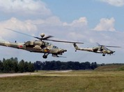 """Video: Uy lực dữ đội của Mi-28 """"Thợ săn đêm"""" và Mi-24 """"Cá sấu"""""""