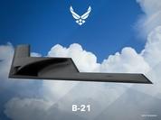Không quân Mỹ công bố mô hình 3D máy bay ném bom tầm xa mới LRS-B