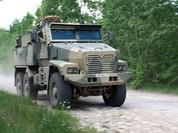 """Cận cảnh xe vận tải thiết giáp """"Taifun-U"""" chống bạo loạn, khủng bố"""