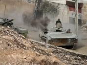 Lữ đoàn 555 tiếp tục cuộc tấn công về phía sân bay Tabaqa