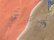 Quân đội Syria đánh chiếm nhiều ngọn đồi xung quanh thành phố Quraytayn tỉnh Homs