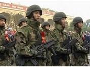 Súng trường tự động tấn công Tavor 21  của Hải quân đánh bộ Việt Nam