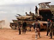 Lữ đoàn 120 mở rộng địa bàn vây lấn trên sa mạc tỉnh Homs