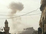 Quân đội Syria sử dụng pháo phản lực nhiệt áp diệt IS ở Palmyra