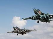 Lực lượng không quân Nga nghiền nát một đoàn xe cứu viện của IS ở Đông Hama