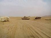 Quân đội Syria ác chiến với IS, đã có thương vong trên chiến trường Palmyra