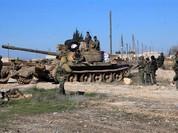 Quân đội Syria phục kích tiêu diệt một đoàn xe IS