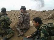 Video: Lữ đoàn 103 càn quét chiến tuyến của IS phía tây Palmyra