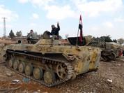 Sư đoàn 3 quân đội Syria đánh chiếm nhiều cao điểm quanh thành phố al-Qaryatain