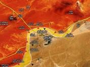 Lữ đoàn 81 và 120 sư đoàn 2 giải phóng nhiều địa điểm trên sa mạc Homs