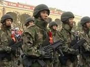 """Hải quân đánh bộ Việt Nam """"hầm hố"""" với súng Israel"""