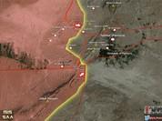 Quân đội Syria giải phóng khu trại Al-Qatar, tấn công về Vườn cây Palmyra