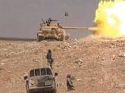 Lực lượng Tiger, Diều hâu Sa mạc phong tỏa đường tiếp vận IS ở Palmyra