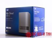 Cận cảnh ổ cứng mạng WD My Cloud Mirror