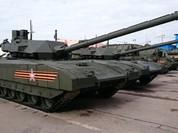 Video mới về siêu tăng Armata - T-14 thử nghiệm mùa đông