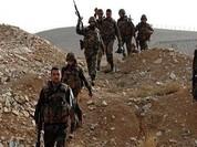 Quân đội Syria tiếp tục tấn công hỏa lực cao điểm Tal al-Eiss và Al-Zorba