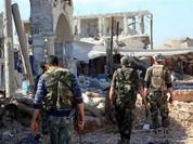 Quân đội Syria nỗ lực tấn công al-Nusra Front, Ahrar al-Sham và Jund al-Aqsa ở Nam Aleppo