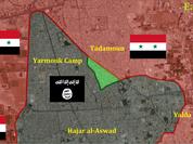 IS khống chế hầu hết quân Trại Yarmouk ở ngoại ô Damascus