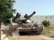 Quân đội Syria giành lại nhà máy xi măng Badia miền Đông Damascus