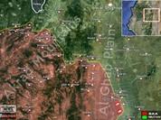 Quân đội Syria triển khai tấn công vào Mansoura trên bình nguyên Al-Ghab