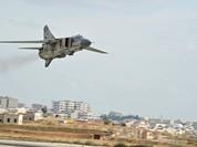 Không quân Syria đánh phá trận địa của Jabhat Al Nusra ở thành phố Aleppo