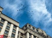 Cận cảnh hậu trường cuộc diễu hành ngày Chiến thắng quân đội Nga