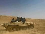 Quân đội Syria, lực lượng Tigers đánh chiếm một số ngọn đồi ở đông bắc tỉnh Homs