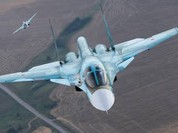 Video: cận cảnh máy bay Su-34 không kích các khu chứa dầu mỏ của IS